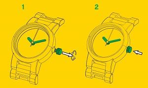 детски часовник lego