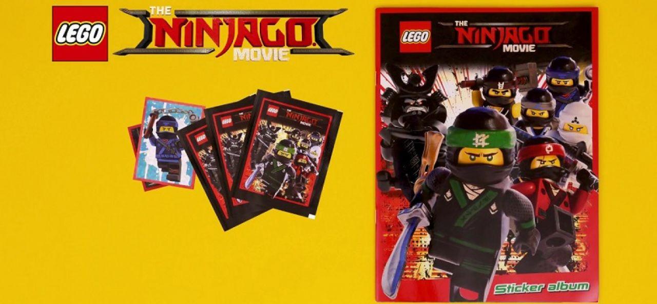 стикери LEGO Ninjago