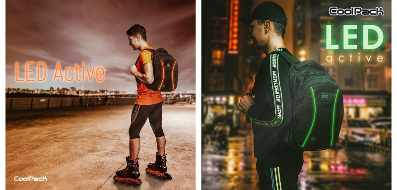 LED active CoolPack раниците
