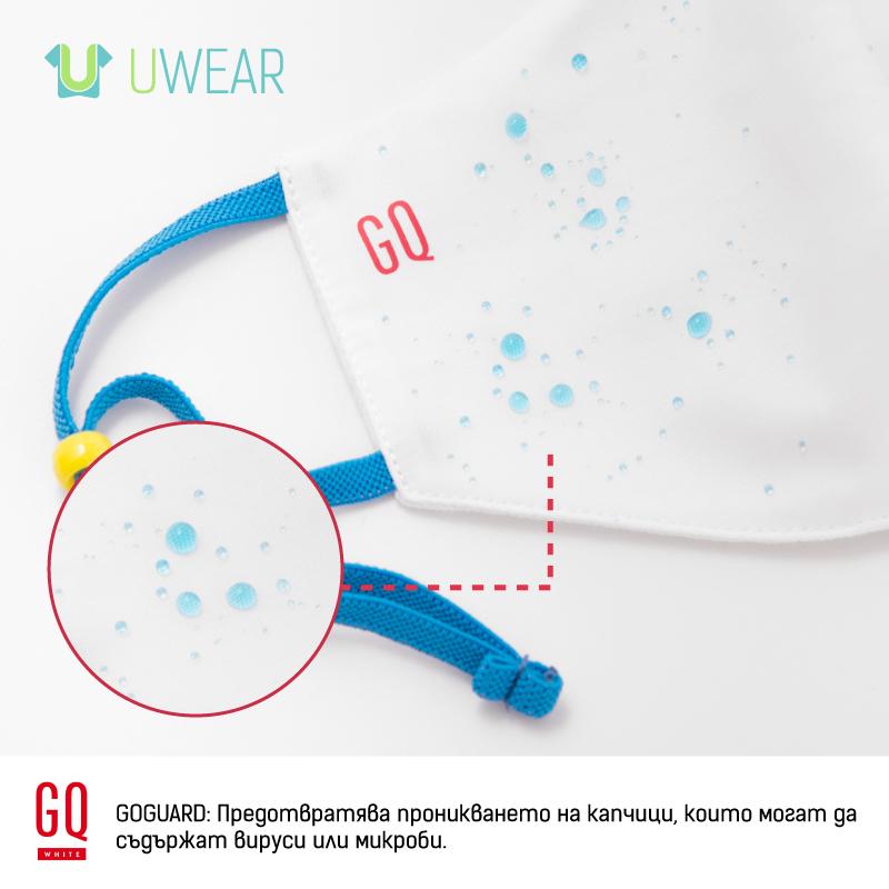 репелентен външен слой на предпазните маски