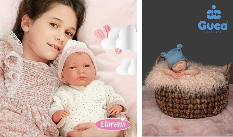 испанските детски ръчно изработени кукли