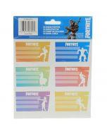 Ученически етикети FORTNITE dances - 18 бр.
