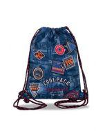 Спортна торба SPRINT Badges B`Blue