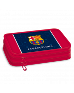 FCBarcelona несесер с два ципа