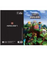 Картичка Minecraft Всички Герои