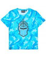 Тениска Fortnite Black Knight helmet blue