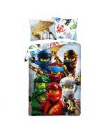 Детски спален комплект LEGO® NINJAGO Ву и шестте нинджи