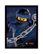 Картина Lego Ninjago movie Jay в остъклена рамка