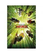 Макси постер с шестте нинджи зелен