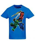 Тениска LEGO Ninjago трио blue