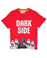 Тениска LEGO Star Wars Dark side red