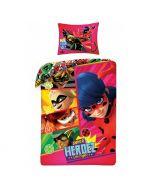 Детски спален комплект Калинката и Чeрния котарак Super Heroez