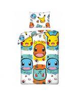 Детски спален комплект Pokemon Faces