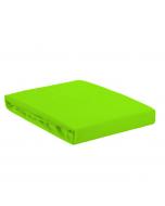 Долен чаршаф единичен зелен