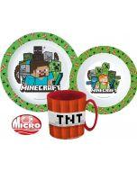 Пластмасов комплект Minecraft TNT