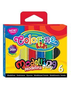 Моделин 6 цвята Colorino
