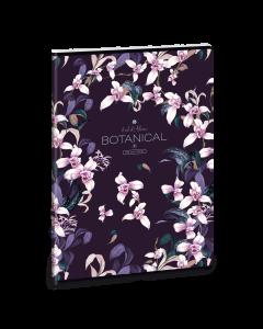 Ученическа тетрадка A4, 40 листа ARS UNA Botanic orchid