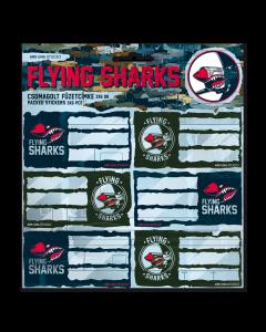 Flying Sharks ученически етикети
