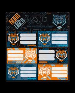 Roar of the Tiger ученически етикети