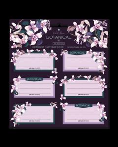Ученически етикети Ars Una Botanic Orchid