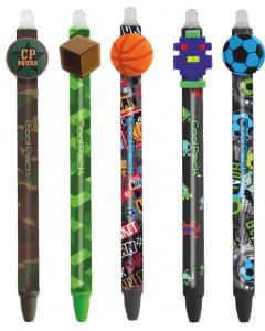 Автоматична химикалка Boys с гума CoolPack, Различни видове