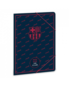 FCBarcelona папка с ластик