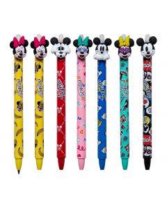 Автоматична химикалка Mickey/Minnie с гума Colorino, Различни видове