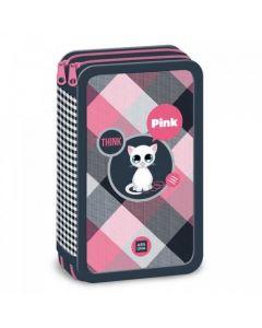 Ars Una Think Pink несесер с два ципа
