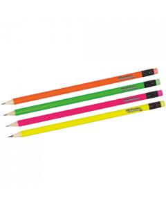 Colorino Kids Neon черен молив HB