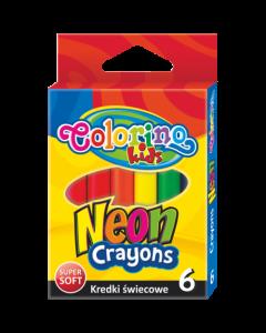 Colorino Kids пастели 6 цвята НЕОН