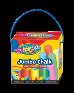 Colorino Kids Jumbo цветни тебешири 15 бр.