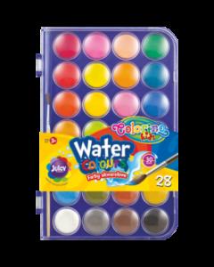 Colorino Kids акварелни бои 28 цвята