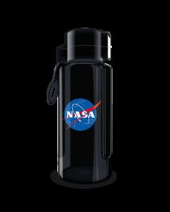 БУТИЛКА ЗА ВОДА NASA BLACK 650ML - ARS UNA BPA FREE