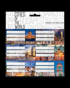 УЧЕНИЧЕСКИ ЕТИКЕТИ CITIES OF THE WORLD