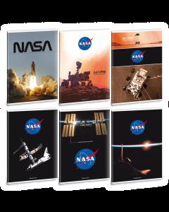 Ученическа тетрадка A4, 40 листа ARS UNA NASA - Различни видове