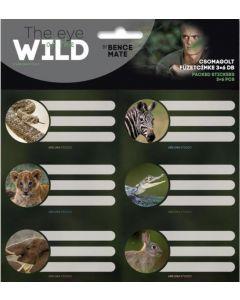 Ученически етикети Ars Una The eyes of the wild