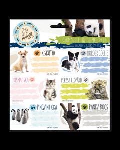 Ученически етикети Ars Una Cute animals