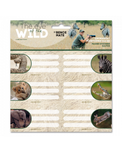 Ученически етикети Ars Una The eyes of the wild 2