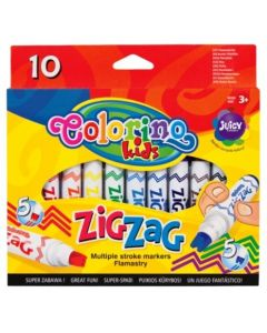 Флумастери Зиг-заг 10 цвята