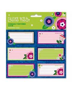 Ars Una La Belle Fleur ученически етикети