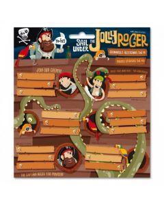 Ars Una Jolly Roger ученически етикети