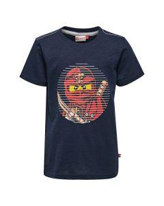 Тениска LEGO Ninjago Thomas 302 тъмно син