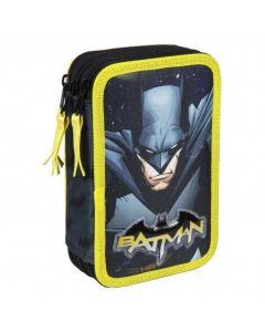 Ученически несесер с 3 ципа и пособия Batman