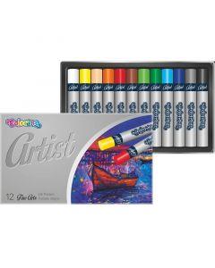 Artist маслени пастели 12 цвята