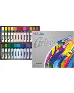 Artist сухи пастели 24 цвята