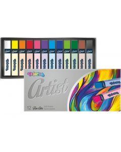 Artist сухи пастели 12 цвята
