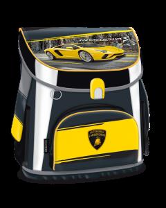 Ученическа раница Lamborghini Compact жълто