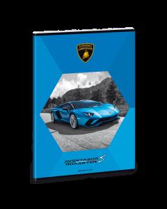 Lamborghini тетрадка А4