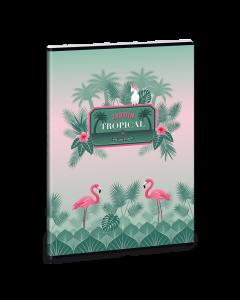 Pink Flamingo тетрадка А4