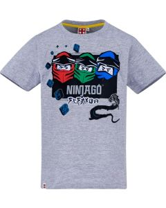 Тениска LEGO Ninjago трио gray